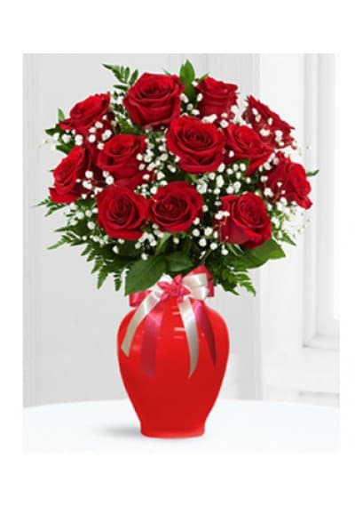 18 Red Roses