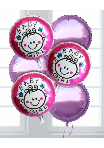 Baby Girl Balloon v2