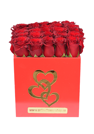 Red Roses Red Box