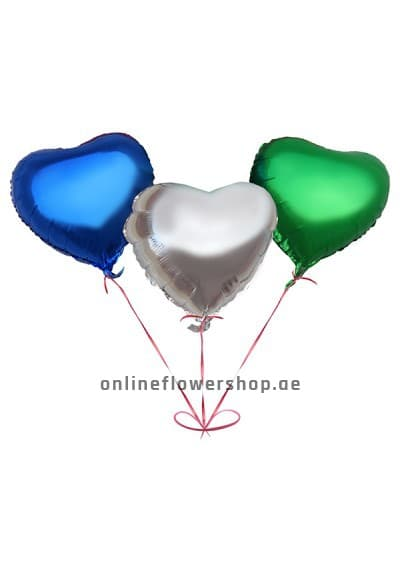 3 Colors of Love Balloon Pack