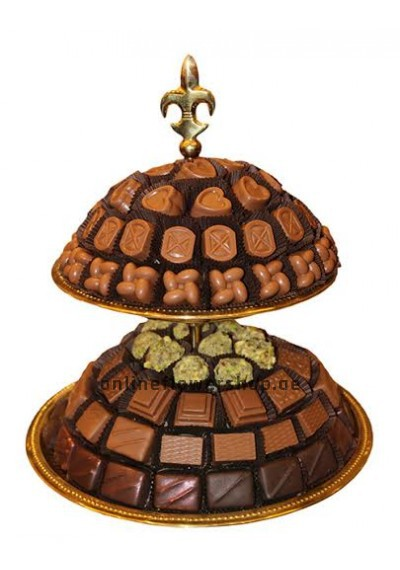 Two Layer Gold Tray Chocolate