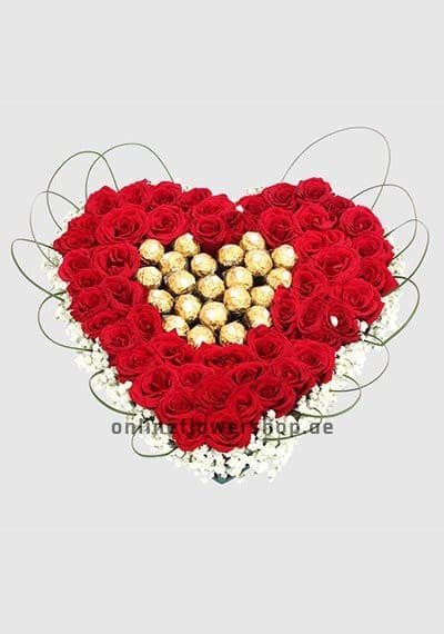 Sincere Heart With Rocher