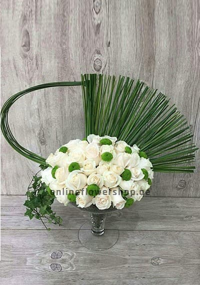 White Queen Bouquet
